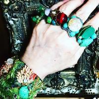 コスチュームジュエリー ringシリーズ -    羊毛フェルトアート・アクセサリー ハンドメイド・オーダー Salon coccoro