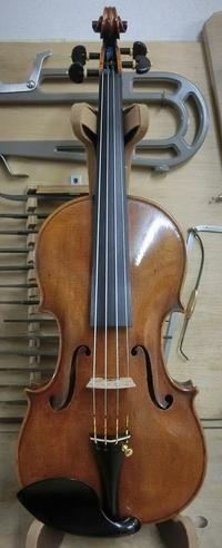 バイオリン完成しました! - 村川ヴァイオリン工房