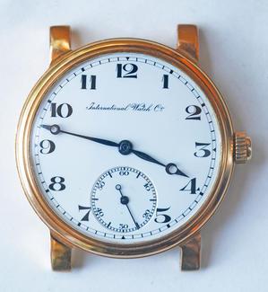 IWC 懐中時計 - 時計修理の佐藤時計店