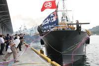 沖合底びきの船団が出航しました - 下関あんこうプロジェクト・ブログ