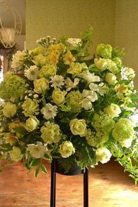 *スタンド花*開店や周年の御祝に♪ - 花色~あなたの好きなお花屋さんになりたい~