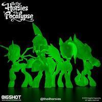 Four Horsies of the Pocalypse 4-Pack, GID Edition - 下呂温泉 留之助商店 入荷新着情報