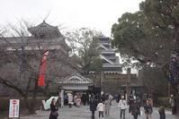 九州横断ツアー 熊本城 - レトロな建物を訪ねて