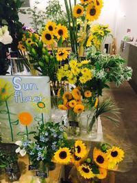 ひまわりフェア - ~ Flower Shop D.STYLE ~ (新所沢パルコ・Let's館1F)