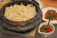 韓国風豆もやしご飯とコンビジチゲ - キムチ屋修行の道