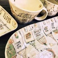 西本なほさんの作品「白の家シリーズ」 - 陶千房ノート