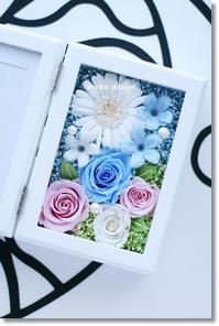 縦型フォトフレーム* gift - Flower letters