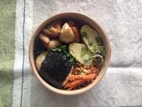 玄米おにぎり弁当6/3 (Sat) - kedi