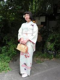 レトロな訪問着でご披露宴に。 - 京都嵐山 着物レンタル&着付け「遊月」