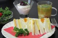 ローソンの卵づくしサンド - Mme.Sacicoの東京お昼ごはん