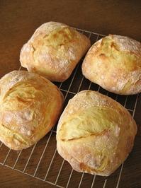 キタノカオリのチャバタ - slow life,bread life
