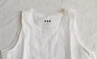 three dots linen layered tank - レディス・カジュアル COSMIC alfes