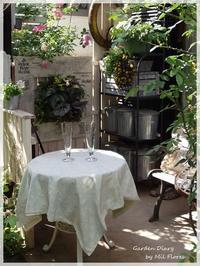 バラの季節の終わりに - Garden Diary