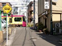 都電荒川線の踏切 - 黄色い電車に乗せて…