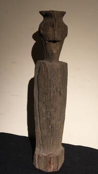 インドネシア ボルネオ島 ダヤク族 木彫神像 - MANOFAR マノファー