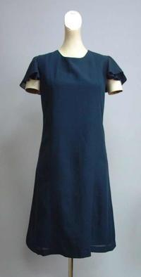 紺色絽のワンピース - 私のドレスメイキング
