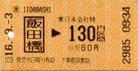 219 飯田橋駅 (JR東日本/東京メトロ/都営地下鉄) - fbox12 blog (博物館fbox12 館長の雑記帳)