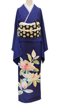 手仕事の美しさが光る大羊居製のモダンな色留袖 - それいゆのおしゃれ着物レンタル