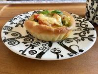 アボカド&バジルのピザカップ - カフェ気分なパン教室  ローズのマリ