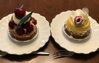 チェリーのタルトとマンゴーのタルト(ヴェールの丘) - よく飲むオバチャン☆本日のメニュー