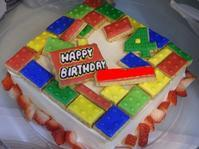 4歳のケーキ♪ - henda  マイライフⅡ