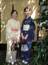 初夏の爽やかな日、香港から来られました。 - 京都嵐山 着物レンタル&着付け「遊月」