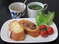 いつもの朝食をブランチに - Mme.Sacicoの東京お昼ごはん