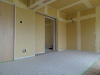 床、壁ボード張りまで - 大山崎の不動産ハロープロジェクト