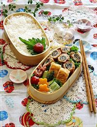 磯辺でロールカツ弁当と常備菜作り♪ - ☆Happy time☆
