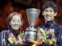 吉村・石川混合複、あっぱれ優勝@世界卓球デュッセルドルフ - Would-be ちょい不良親父の世迷言