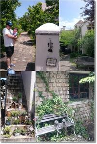 住宅街に突然現れるヨーロッパのような小さな街並みと無料のバラ園 - 素敵な日々ログ+ la vie quotidienne +