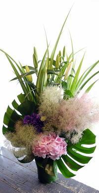 御命日に。新川西3条にお届け。2017/06/03。 - 札幌 花屋 meLL flowers