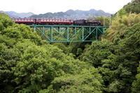 初夏の安谷川橋梁 - 2017年初夏・秩父 - - ねこの撮った汽車