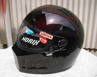 シンプソンのカーボンヘルメットSB13をペイントしてみた。 - DRESS OUT  White Blog