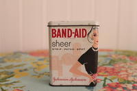 Band-Aid Tin Can - My vintage life in LA