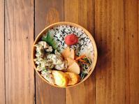 6/5(月)レンチンレモンチキン弁当 - おひとりさまの食卓plus