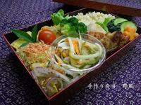 本日のお弁当と神谷さんの梅予約販売のお知らせ - 手作り弁当 野風