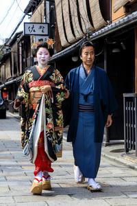 柴田・豆沙弥さん お見世出し(祇園甲部) - 花景色-K.W.C. PhotoBlog