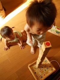 積み木あそび - eri-quilt日記2