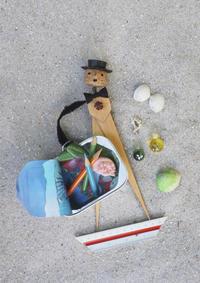 砂浜にいらっしゃい - 日々の営み 酒井賢司のイラストレーション倉庫