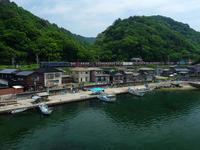 初夏の漁港 - デジタルで見ていた風景