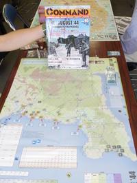 YSGA 六月例会の様子その5〔6/4のミッドウェーより2日後のノルマンディー上陸を記念して...(DDH/CMJ#96)June-August'44〕 - YSGA(横浜シミュレーションゲーム協会) 例会報告
