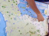 YSGA 六月例会の様子その6〔6月と言えばノルマンディ上陸ということで、シモニッチゲーム遍歴の一環として...(GMT)ノルマンディ'44再版〕 - YSGA(横浜シミュレーションゲーム協会) 例会報告