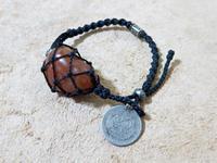 【マクラメ&ヘンプ】#123 アゲートの着せ替えブレスレット - Shop Gramali Rabiya (SGR)