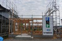 ゼロ・エネルギー住宅「FPの家」建込工事② - エコで快適な『FPの家』いかがですか!