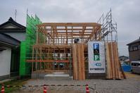 ゼロ・エネルギー住宅「FPの家」建込工事③ - エコで快適な『FPの家』いかがですか!