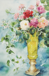 特別講座「一輪からはじめるバラ 水彩画講座」参加者募集のお知らせ - アトリエTODAYのブログ