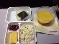 機内食(ハワイアン航空:HA852便) - せっかく行く海外旅行のために