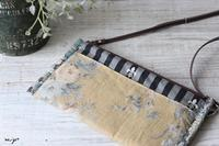 『可愛くて作りたくなる小さなバッグ』掲載のお財布ポシェット♪ - neige+ 手作りのある暮らし