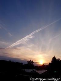 夕日を眺めに歩道橋へ上がる - 丁寧な生活をゆっくりと2